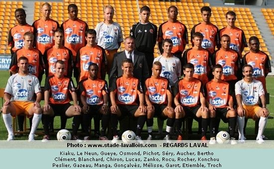 Photo groupe Stade Lavallois 2006-2007 (Centre de Formation)