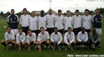 Photo groupe Stade Lavallois 2008-2009 (Centre de Formation)