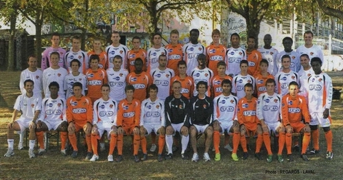 Photo groupe Stade Lavallois 2009-2010 (Centre de Formation)