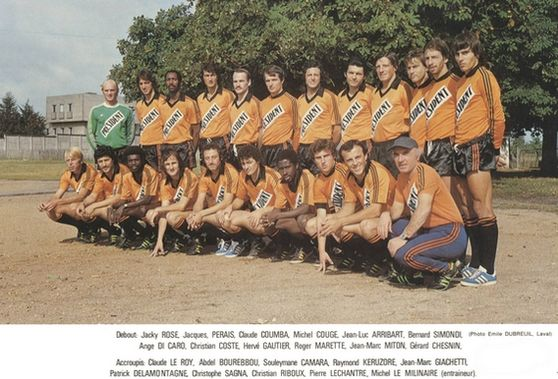 Photo groupe Stade Lavallois 1978-1979