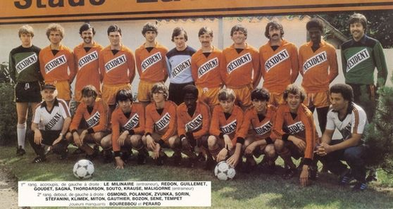Photo groupe Stade Lavallois 1981-1982