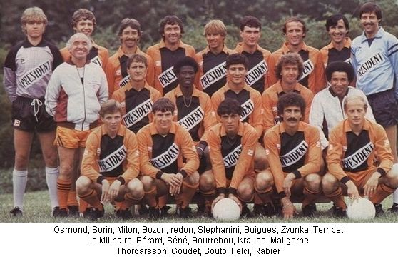Photo groupe Stade Lavallois 1982-1983