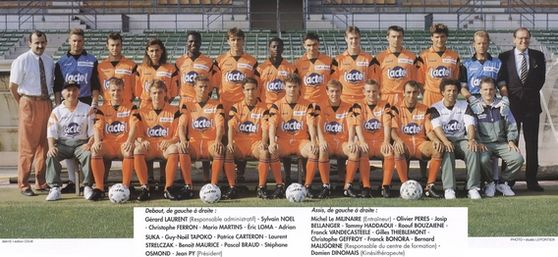 Photo groupe Stade Lavallois 1992-1993