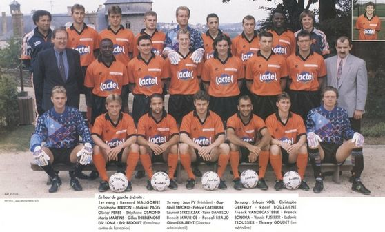 Photo groupe Stade Lavallois 1993-1994