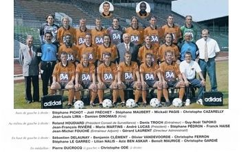 Photo groupe Stade Lavallois 1996-1997