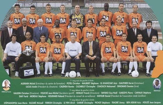 Photo groupe Stade Lavallois 1998-1999