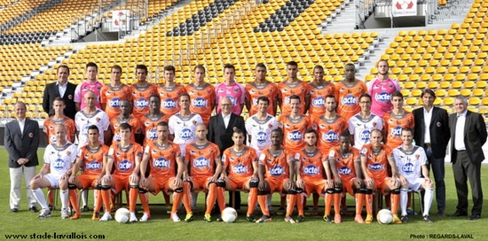 Photo groupe Stade Lavallois 2012-2013